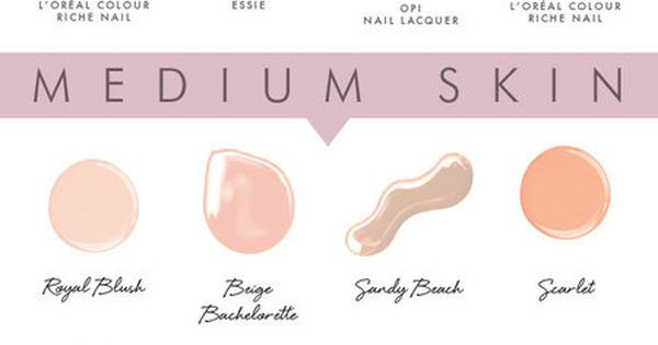 The Best Nude Nail Polishes for Your Skin Tone!! nudepolish bellashoot