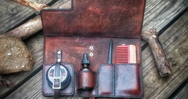 image of mad viking leather beard satchel beard care pinterest leather beards and products. Black Bedroom Furniture Sets. Home Design Ideas