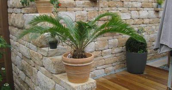 mediterrane mauer balkon pinterest gardens patios. Black Bedroom Furniture Sets. Home Design Ideas