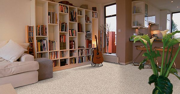 Cream Enduring Charm carpet For Living Room Design With