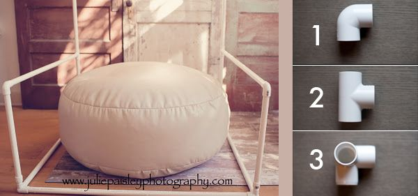 Swell Random Tip 3 Diy Pvc Newborn Backdrop Or Blanket Stand Bralicious Painted Fabric Chair Ideas Braliciousco