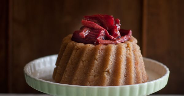 Halva with a Rhubarb Compote | Recipe | Rhubarb Compote