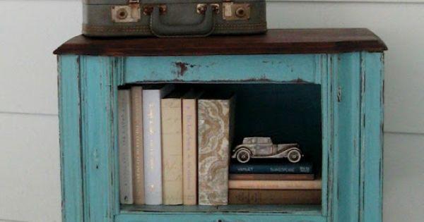 Beyond the picket fence craft ideas pinterest for Vieux meubles restaures