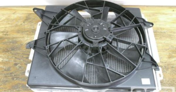 Details About Jeep Wrangler Tj Yj Ffd Electronic Cooling Fan