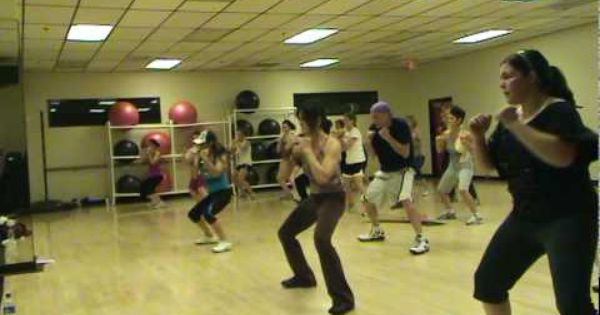 Patricia m abs with paty song rude boy youtube for Mirror zumba