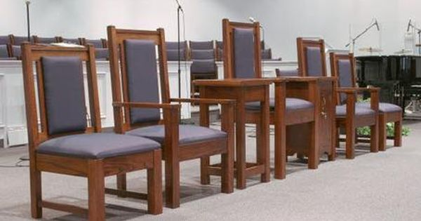 Pulpit Chairs Are Beautiful Pieces Of Church Furniture Designed To