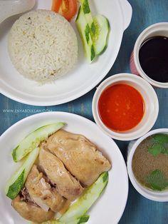 Resepi Nasi Ayam Hainan Resep Masakan Asia Resep Masakan Malaysia Masakan Asia