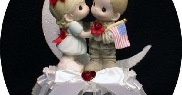 precious moment marine wedding cake toppers army wedding cake topper precious moment 18706