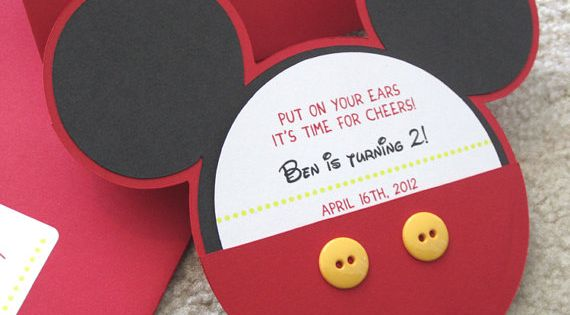 Mickey Mouse Birthday Ideas | So much work went into these adorable