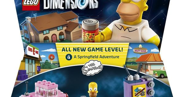 Warner Home Video - Games LEGO Dimensions, Simpsons Level ...