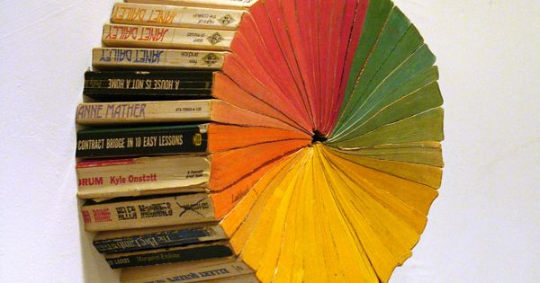 Paperback colour wheel by Jonathan Whitfill