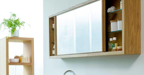 Badmobel Aus Holz Okologisch Nachhaltig Grune Erde Spiegelschrank Badezimmer Spiegelschrank Spiegelschrank Holz