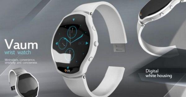 Vaum Wrist Watch by Steel Drake | Wrist watch, Watch design