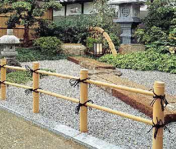 Japanese Bamboo Fence Small Japanese Garden Japanese Garden Ornaments Asian Garden