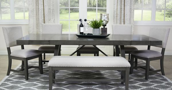 The Nebraska Dining Table Is Made From, Mor Furniture Dining Room Sets