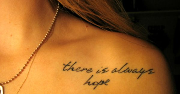 Like the font... Great saying for a tattoo