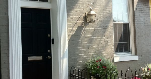 Georgetown door with fluted pilasters and door crosshead for Interior window crossheads