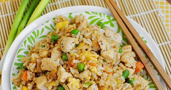 Easy Chicken Fried Rice is cheaper than take out, and much healthier