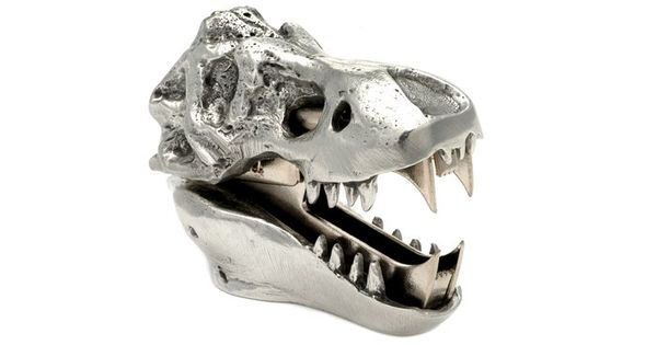 T-Rex Skull Staple Remover. Awesome.