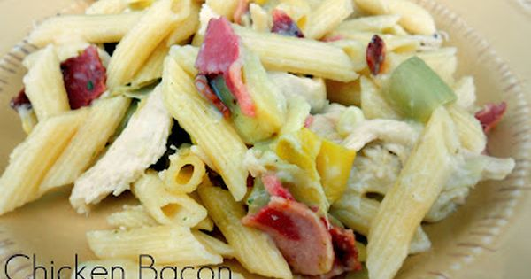 Chicken Bacon Alfredo Casserole from sixsistersstuff.com chicken casserole