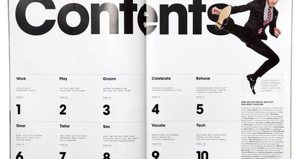 inhaltsverzeichnis prethesis layout pinterest inhaltsverzeichnis typografie und brosch ren. Black Bedroom Furniture Sets. Home Design Ideas
