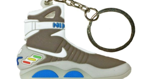 Nike Air Mag Back To The Future 2d Flat Keychain With Images
