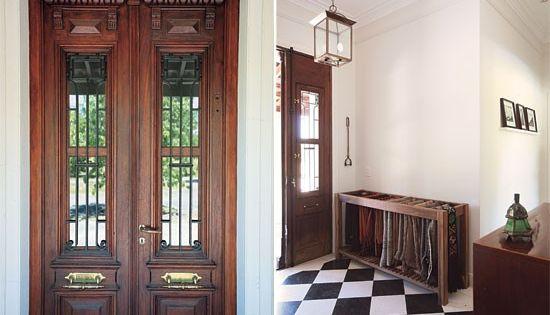 Hall de entrada estilo casa de campo deco ambientes - Entradas de casas de campo ...
