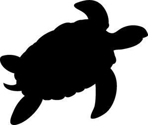 Turtle Silhouette Silhouette Silhouette Art