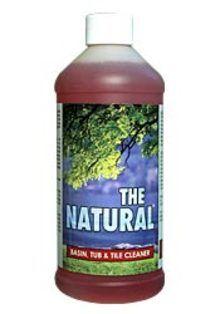 The Natural Basin Tub Tile Cleaner Quart Natural Cleaning