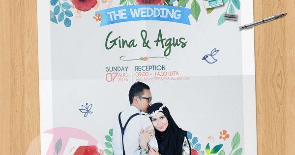 Undangan Pernikahan Digital Gina Agus Undangan Pernikahan Contoh Undangan Pernikahan Desain Undangan Perkawinan