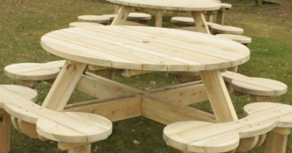 Woodwork Traditional Picnic Table Plans Pdf Plans Picnic Table Plans Round Picnic Table Picnic Table