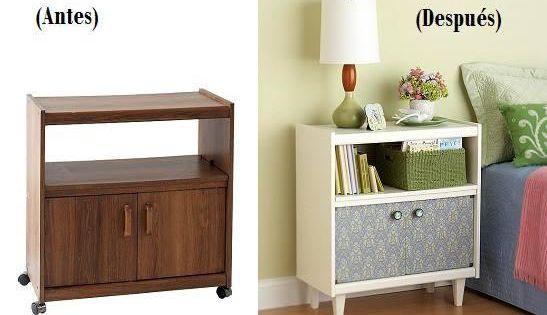C mo reciclar muebles de melamina apunta restauraci n - Como reciclar muebles ...