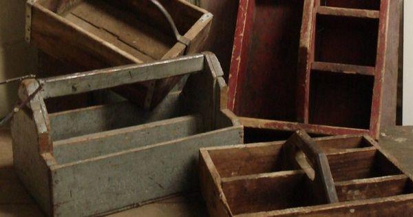 Antiguas cajas de herramientas pintar cajas de for Muebles cantero