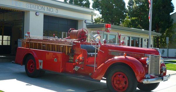 Centerville, CA 1939 Peterbilt/Challenger Fire Engine