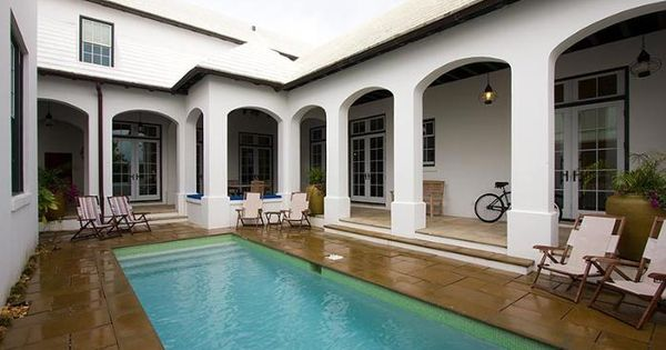 Pool Courtyard Pools Pinterest Home Beach Vacation Rentals And