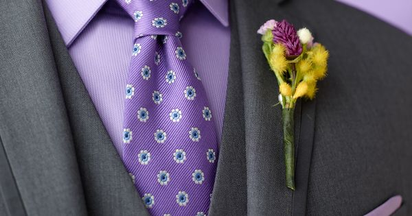 Mix and match tones for a unique look. #menswearhouse #weddings