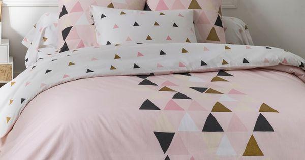 douceur acidul e et tendance scandinave pour cette parure de lit blancheporte linge de maison. Black Bedroom Furniture Sets. Home Design Ideas
