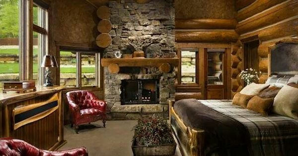 Home Log Homes And Awesome On Pinterest