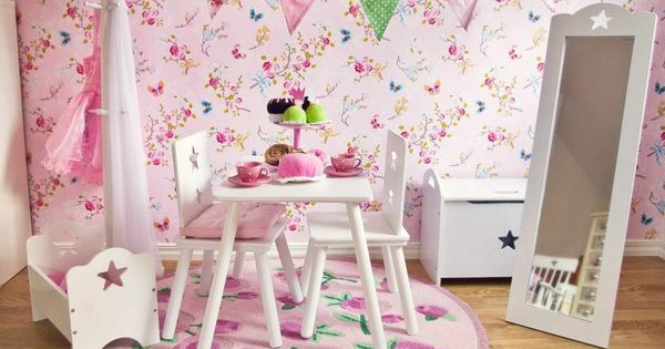 Met dit behang van 39 pip studio 39 maak je elke meisjeskamer vrolijk sfeer pinterest - Meisje kamer sfeer ...