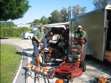 Fast Eddy S Lawn Service Trailer And Equipment Layout With Images Lawn Care Business Pergola Pictures Lawn Service