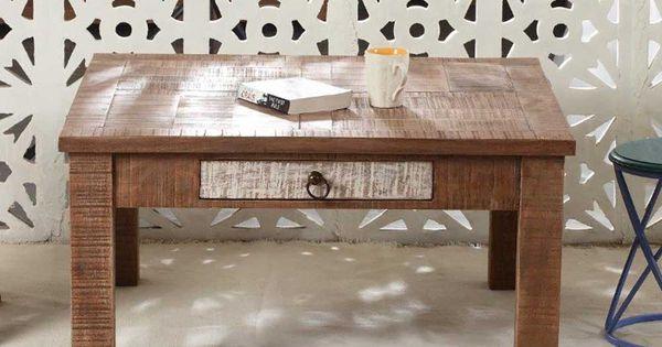 Ablagetisch aus Recyclingholz massiv Loft Design Jetzt bestellen - küchentisch aus arbeitsplatte