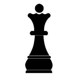 Chess Piece Queen Stencil Chess Queen Queen Chess Piece Chess Pieces