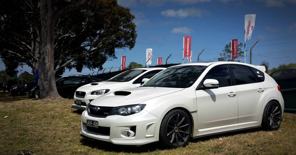 Pic Of My Newly Coilover Ed Hatch At Custom Cars Coffee Sandown Raceway Melbourne Australia Summer Here Subaru Wrx Sti I In 2020 Subaru Hatchback Custom Cars