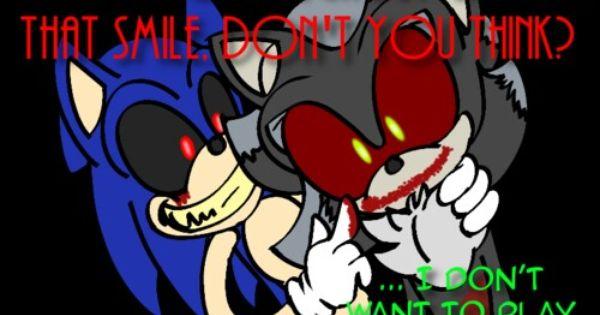 Sonic Exe And Shadow Exe Sonic Art Sonic Fan Art