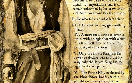 Jack Sparrow's Pirate Code by *valaryc on deviantART | I ...