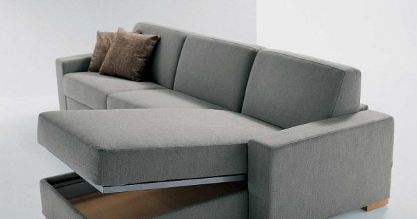 contemporary modern frameless convertible sofa bed 3d