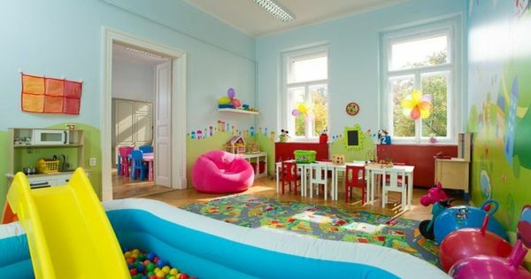 idee kinderzimmer gestaltung rutsche b lle kinderzimmer. Black Bedroom Furniture Sets. Home Design Ideas