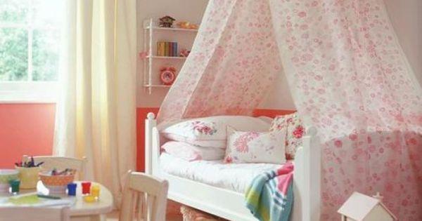 Un dosel en la decoraci n infantil decoracion infantil - Decoracion dormitorio nina ...