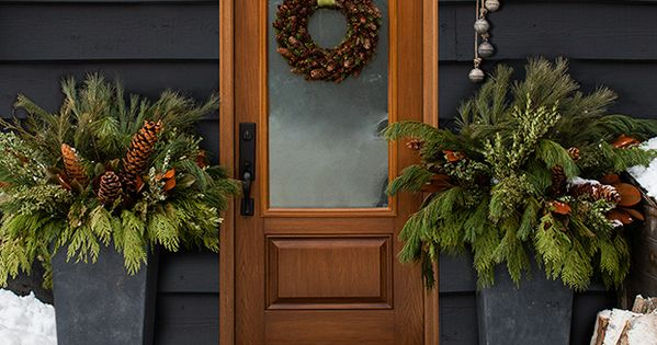 Find your holiday style 21 natural christmas decorating ideas natural christmas - Log decor ideas let the nature in ...