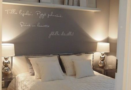 wandgestaltung schlafzimmer graue wand wei er. Black Bedroom Furniture Sets. Home Design Ideas